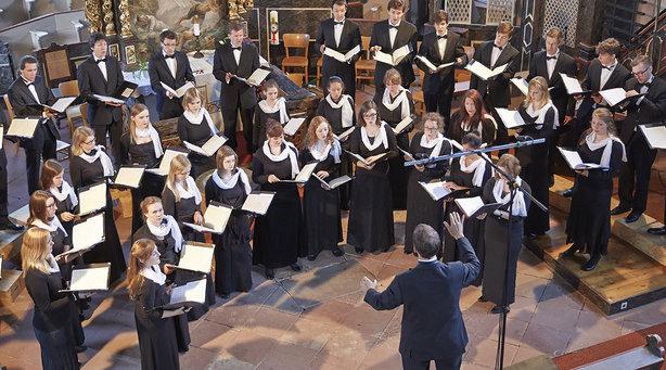 Bild: Johann David Heinichen: Messe Nr. 12; Johann Sebastian Bach: Magnificat, BWV 243 - Evangelische Jugendkantorei der Pfalz