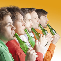 Bild: Das GlasBlasSing Quintett