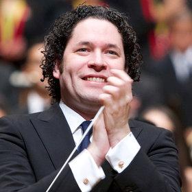 Bild: Wiener Philharmoniker mit Gustavo Dudamel