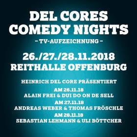 Image: Del Cores Comedy Nights