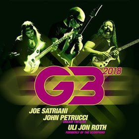 Bild: G3 - Joe Satriani / John Petrucci / Uli Jon Roth