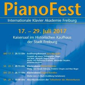 Bild: PianoFest der Internationalen Klavier Akademie Freiburg