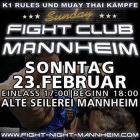 Image: Sunday Fight Club Mannheim