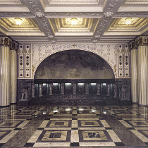 Marmorsaal im Weissenburgpark