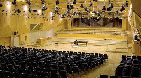 Großer Sendesaal des Hessischen Rundfunks