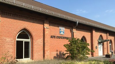 Alte Exerzierhalle am Neuen Rathaus