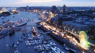 Veranstaltungsgelände Hamburger Hafengeburtstag