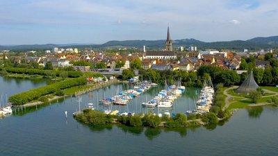 Schiffsanlegestelle Hafen Radolfzell